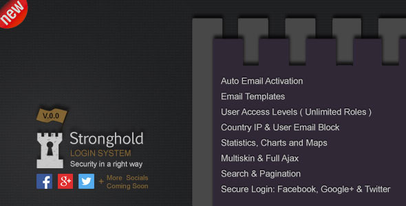 CodeCanyon Stronghold Login System 9340751