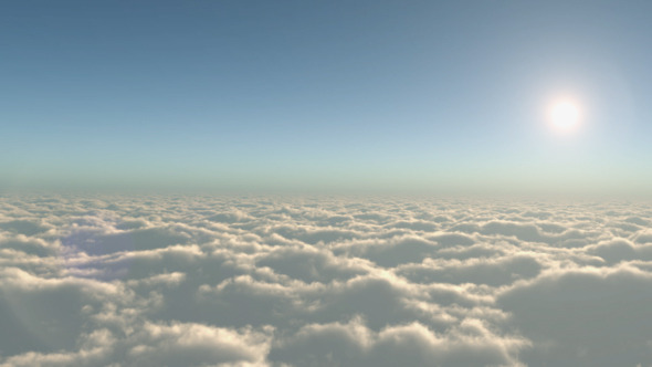 VideoHive Flying Over the Clouds 9340813