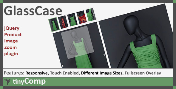 GlassCase jQuery Product Image Zoom plugin