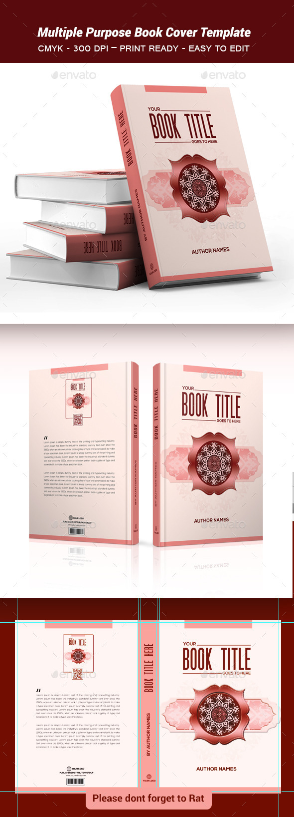 GraphicRiver Multiple Purpose Book Cover Template2 9340866