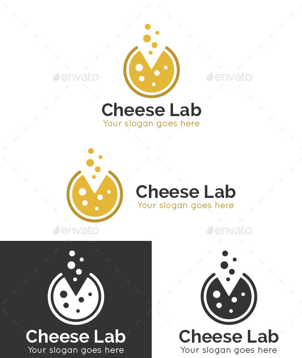 GraphicRiver Cheese Lab Logo Template 9340907
