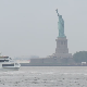 Statue of Liberty with Passing Ferry - VideoHive Item for Sale