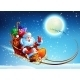 Santa Claus in a Sleigh - GraphicRiver Item for Sale