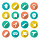 Set Flat Icons of Welding - GraphicRiver Item for Sale