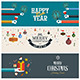 Christmas and New Year Banner Concept - GraphicRiver Item for Sale
