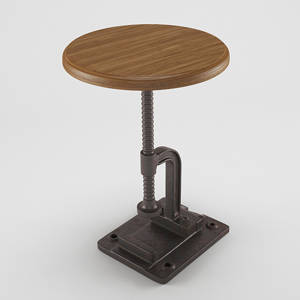 Industrial Stool/Chair - 3DOcean Item for Sale