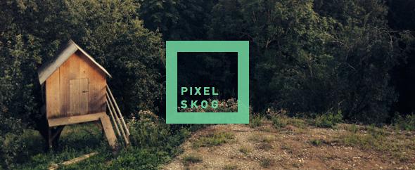 pixelskog