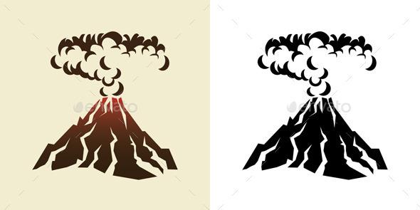 GraphicRiver Volcano 9342057