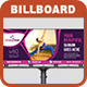 Fitness Billboard Template - GraphicRiver Item for Sale