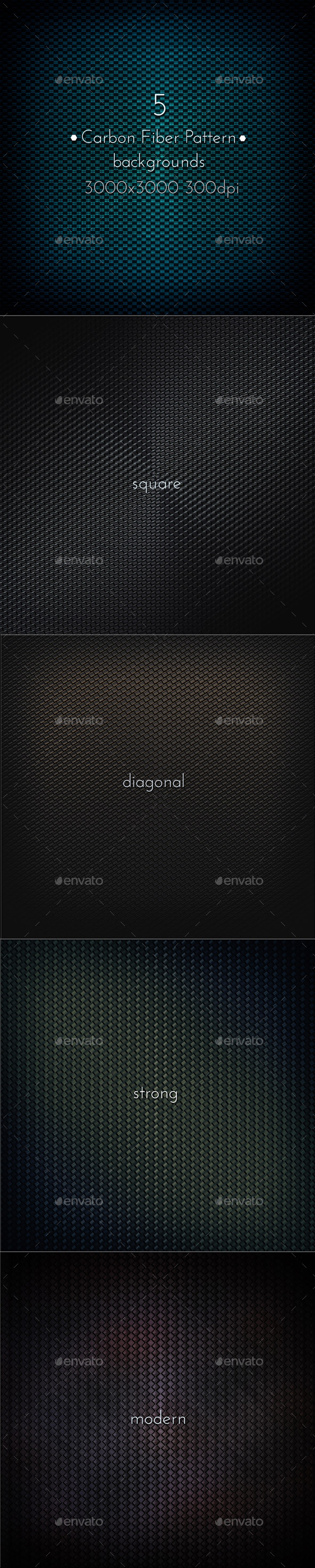 GraphicRiver Carbon Fiber Pattern 9342419