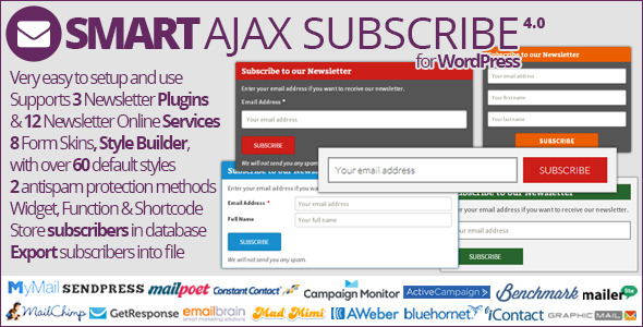 Smart AJAX Subscribe