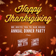Happy Thanksgiving Flyer Template - GraphicRiver Item for Sale