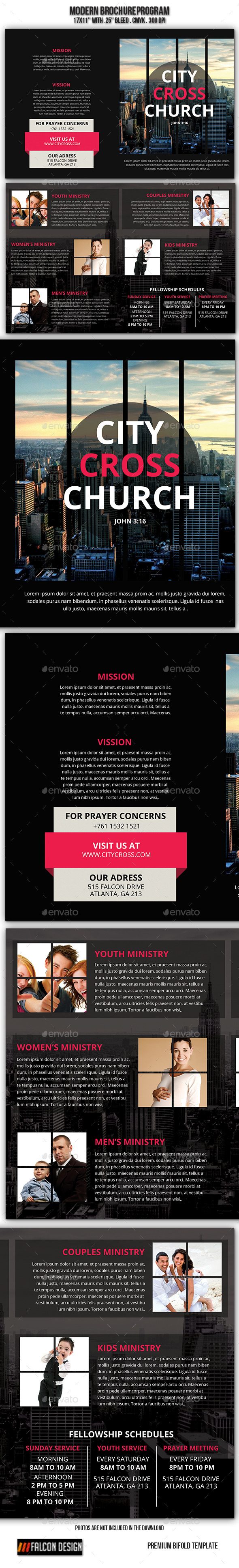 GraphicRiver Modern Church Brochure 9299823