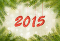 Happy new year 2015! New year design template.  - PhotoDune Item for Sale
