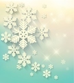 Christmas postcard with snowflakes.  - PhotoDune Item for Sale