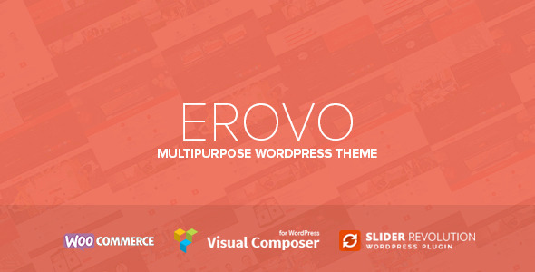 ThemeForest Erovo Responsive Multipurpose WordPress Theme 9342804