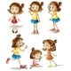 Girls Actions - GraphicRiver Item for Sale