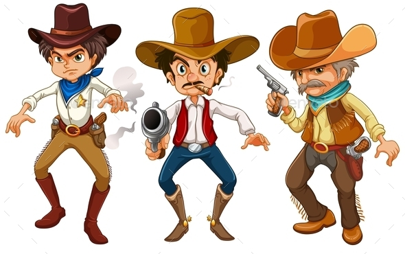 GraphicRiver Cowboys 9342809