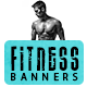 Fitness & Gym Banners - GraphicRiver Item for Sale