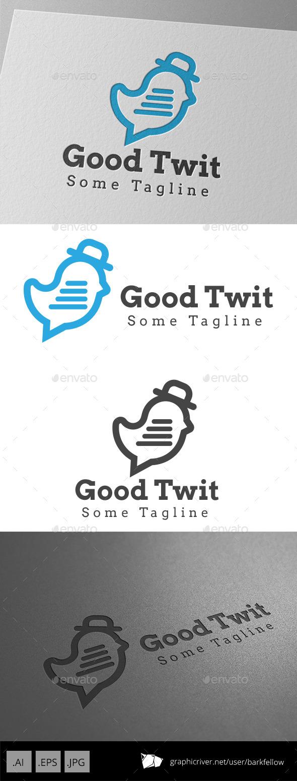 GraphicRiver Bird Chat Logo 9342913