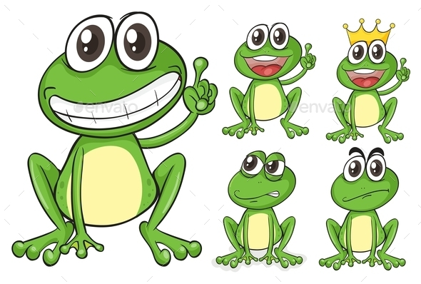 GraphicRiver Green Frogs 9342925