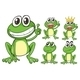 Green Frogs - GraphicRiver Item for Sale