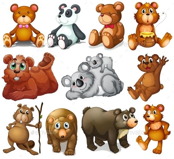 Huggable Teddy Bears
