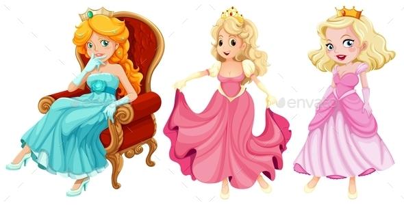 GraphicRiver Princess 9343213