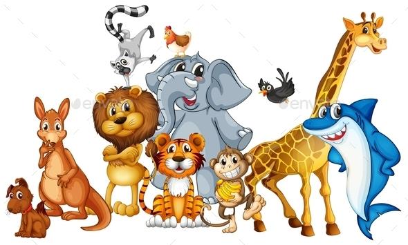 GraphicRiver Animals 9343235