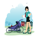 Baby in Stroller - GraphicRiver Item for Sale