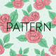 Vintage Rose  Pattern  - GraphicRiver Item for Sale