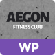 Aegon - Responsive Gym/Fitness Club Wordpress Them - ThemeForest Item for Sale