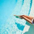 Beautiful Woman Legs In Swimming Pool. - PhotoDune Item for Sale
