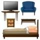 Wooden Furnitures - GraphicRiver Item for Sale