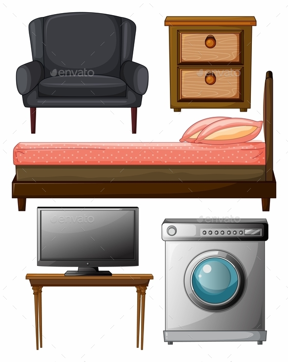 GraphicRiver Useful Furniture 9343657