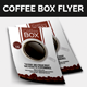 Coffee Box Flyer - GraphicRiver Item for Sale