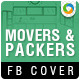 Pakers and Movers Facebook Cover - GraphicRiver Item for Sale