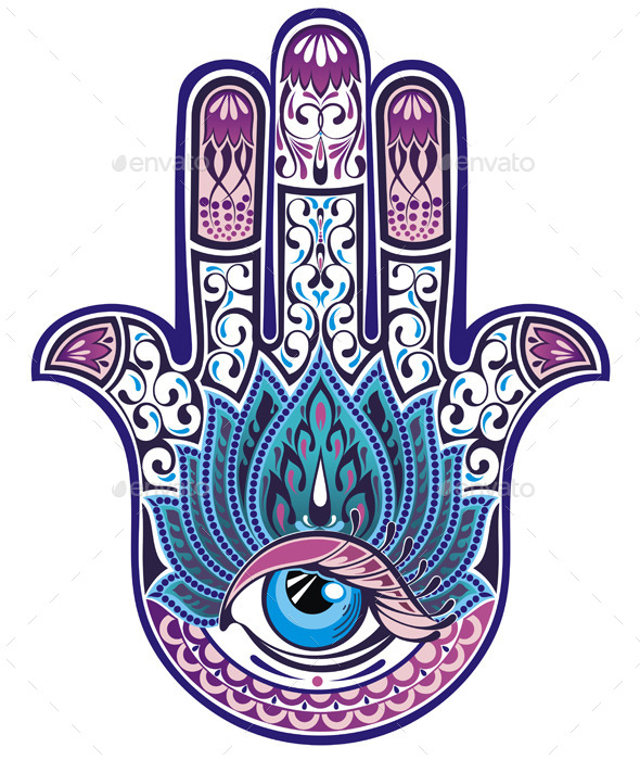 GraphicRiver Hamsa Hand 9343681