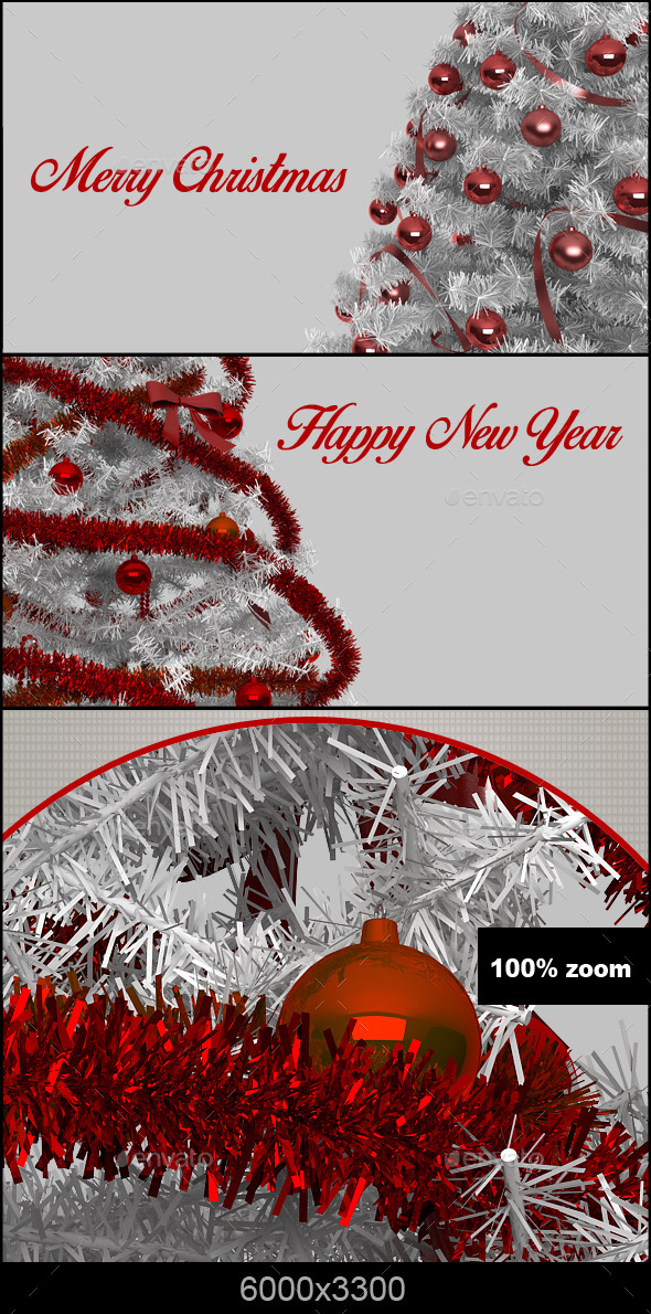 GraphicRiver Christmas Tree 9343856