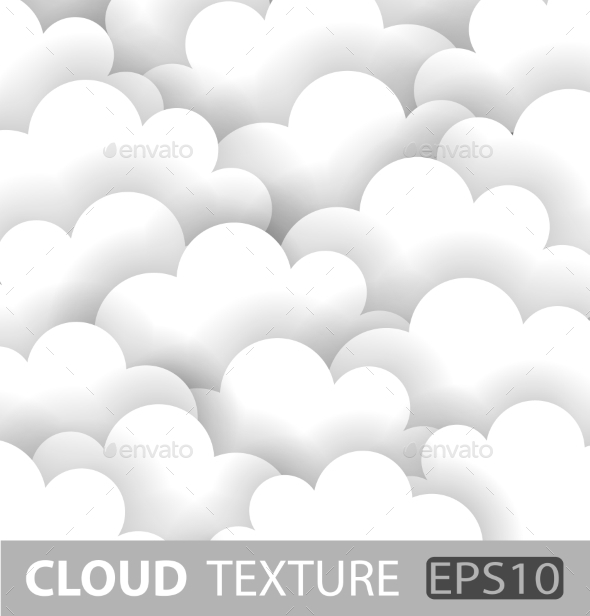 GraphicRiver Abstract White Cloud Paper Background 9344009