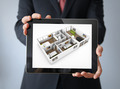 interior design tablet businessman - PhotoDune Item for Sale