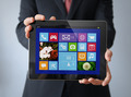businessman with a tablet - PhotoDune Item for Sale