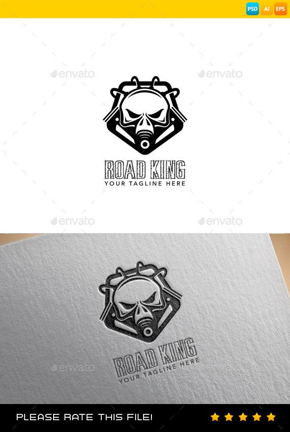 GraphicRiver Skull Logo 9332967