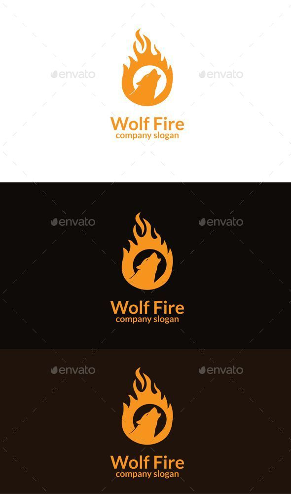 GraphicRiver Wolf Fire 9344575