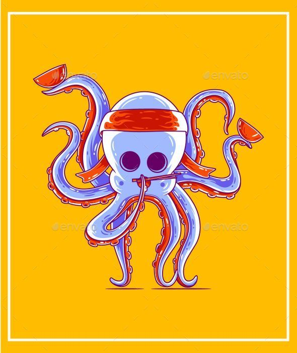 GraphicRiver Octopus 9344576