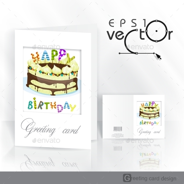 GraphicRiver Greeting Card Design Template 9344617