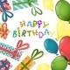 Colorful Birthday Background - GraphicRiver Item for Sale