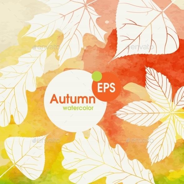 GraphicRiver Creative Autumn Background 9344663