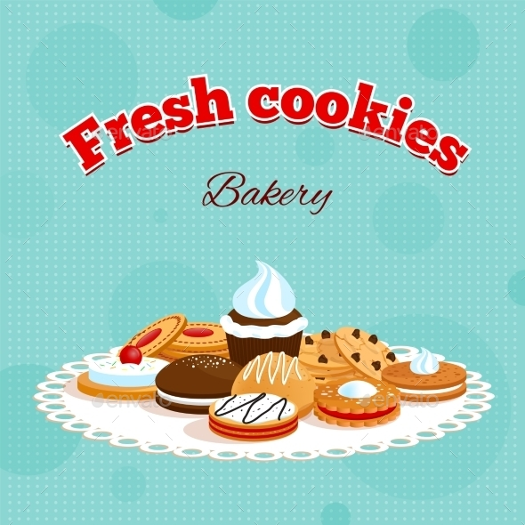 GraphicRiver Bakery Retro Poster 9344717