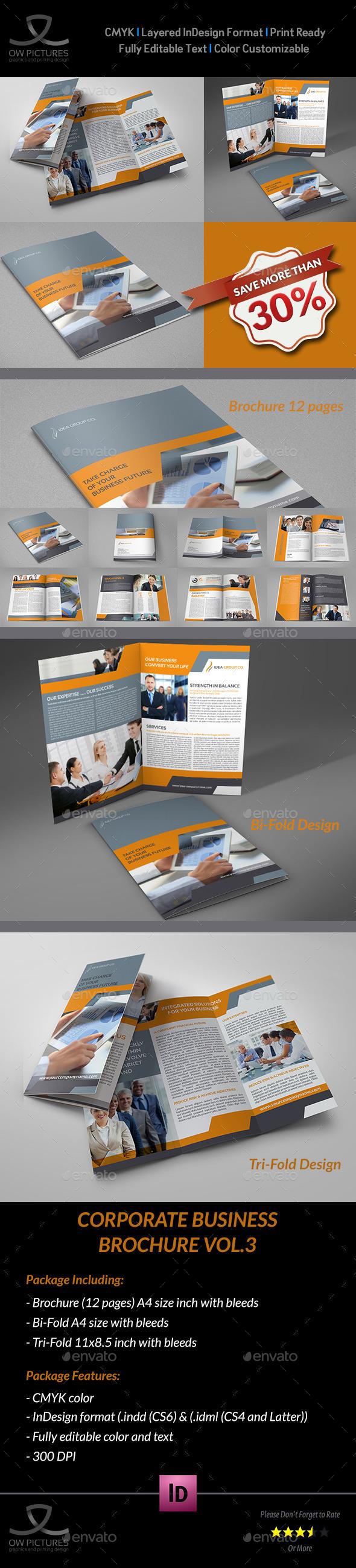 GraphicRiver Company Brochure Bundle Vol.3 9344966